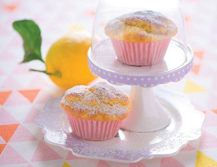 Muffin di ricotta al limone