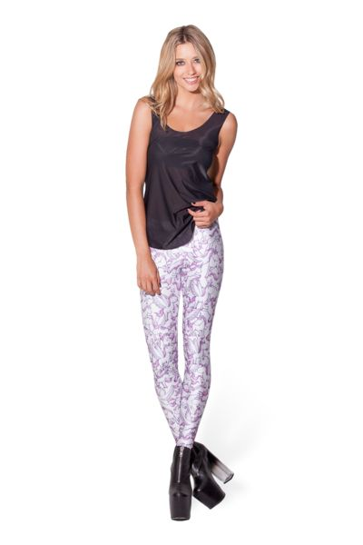 Unicorn Leggings - LIMITED › Black Milk Clothing! Absolutely adorable leggings! surprisingly easy to style and they just make me super happy :):):)