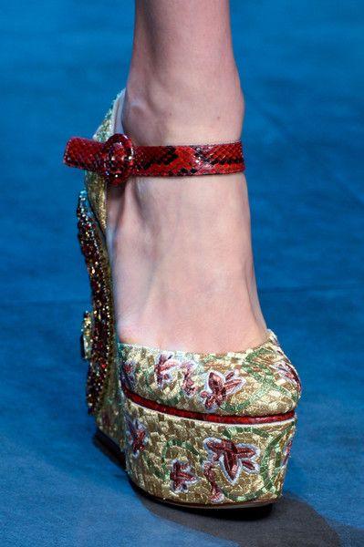 Dolce E Gabbana Fall 2013 - Details
