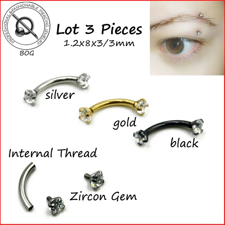 Stainless Steel 16g Zircon CZ Gem Curved Eyebrow Ring     Tag a friend who would love this!     FREE Shipping Worldwide     Buy one here---> http://www.myperfecteyebrows.com/stainless-steel-16g-zircon-cz-gem-curved-eyebrow-ring/    #Makeup #Cosmetics