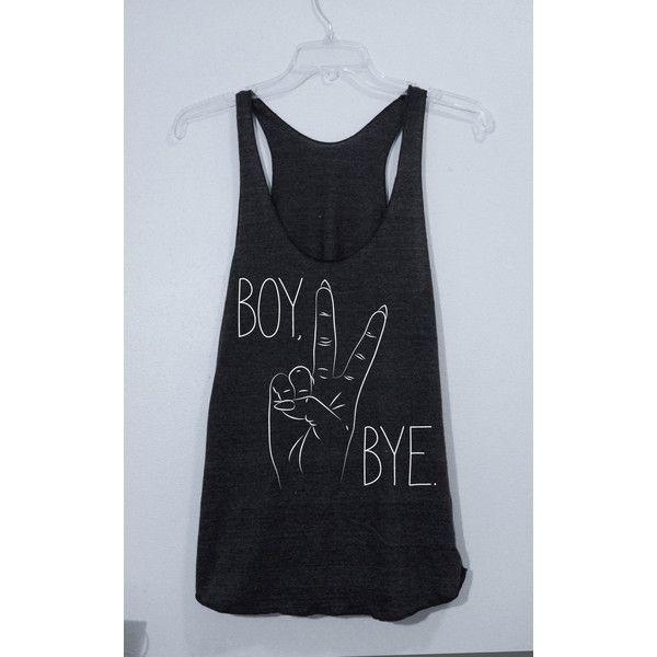Beyonce Shirt Lemonade Boy Bye Peace American Apparel Men's/Women's... ($17) ❤…