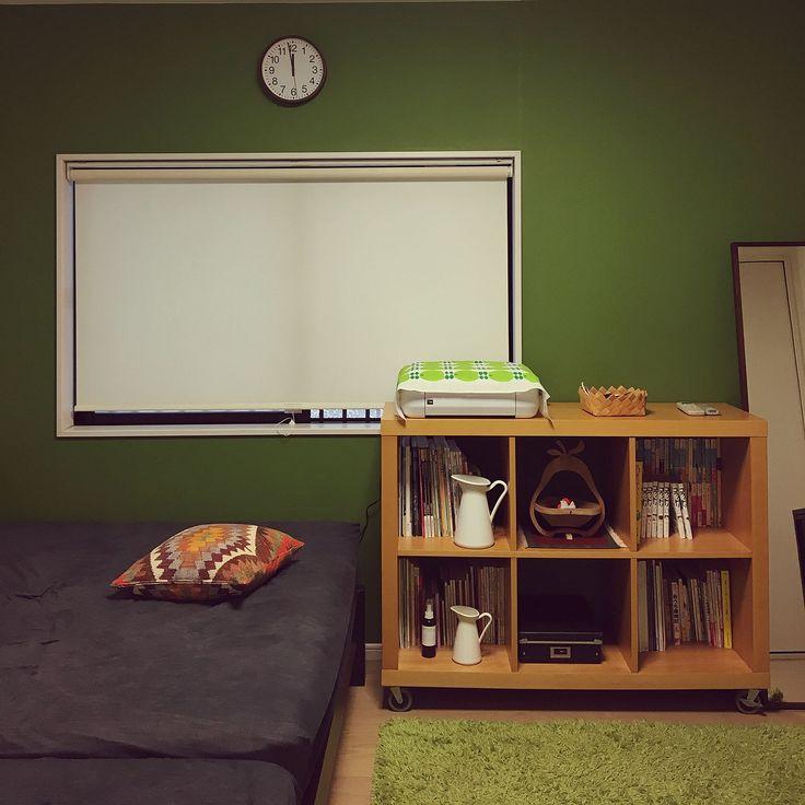 アクタス/IKEA/無印良品/アクセントクロス/北欧/北欧インテリア…などのインテリア実例 - 2017-08-19 12:01:02 | RoomClip(ルームクリップ)