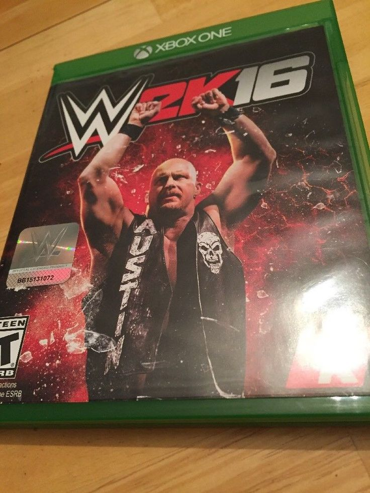 Xbox One W2K16 WWE Wrestling Video Game Complete 2K16