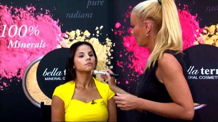 How to apply Bella Terra Cosmetics Mineral Foundation and Look Great!  #BellaTerraCosmetics