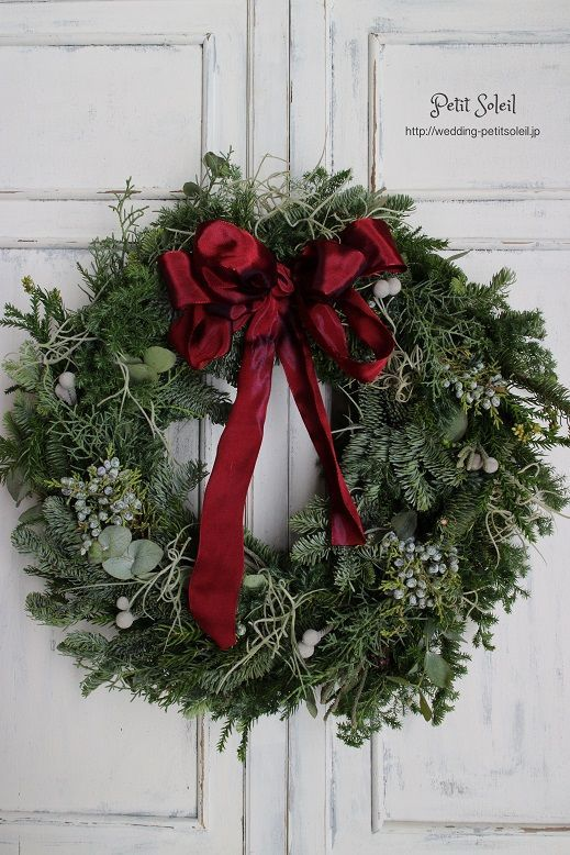 クリスマスリース Christmas wreath