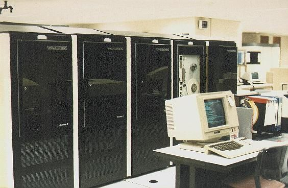 Tandem NonStop II System (1981).: Vintage Computers, Tandem Computers, Nonstop Ii, Ii System, Tandem Nonstop, Computers System, Computers Chronicles, Fault Tolerant Computers, System 1981