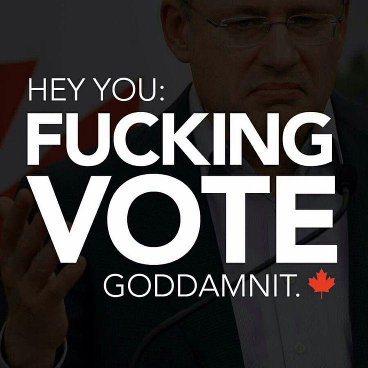 Hey You: Fucking Vote, Goddamnit.