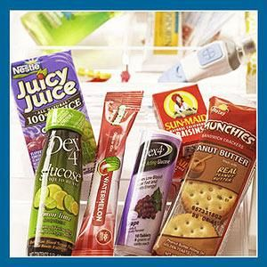 Diabetic Emergency Snacks In case of low blood sugar, pack a quick-acting source of sugar, such as glucose tabs or juice boxes. Stock comple...