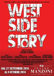 Claudia Grohovaz: WEST SIDE STORY - In esclusiva al Teatro Manzoni d...