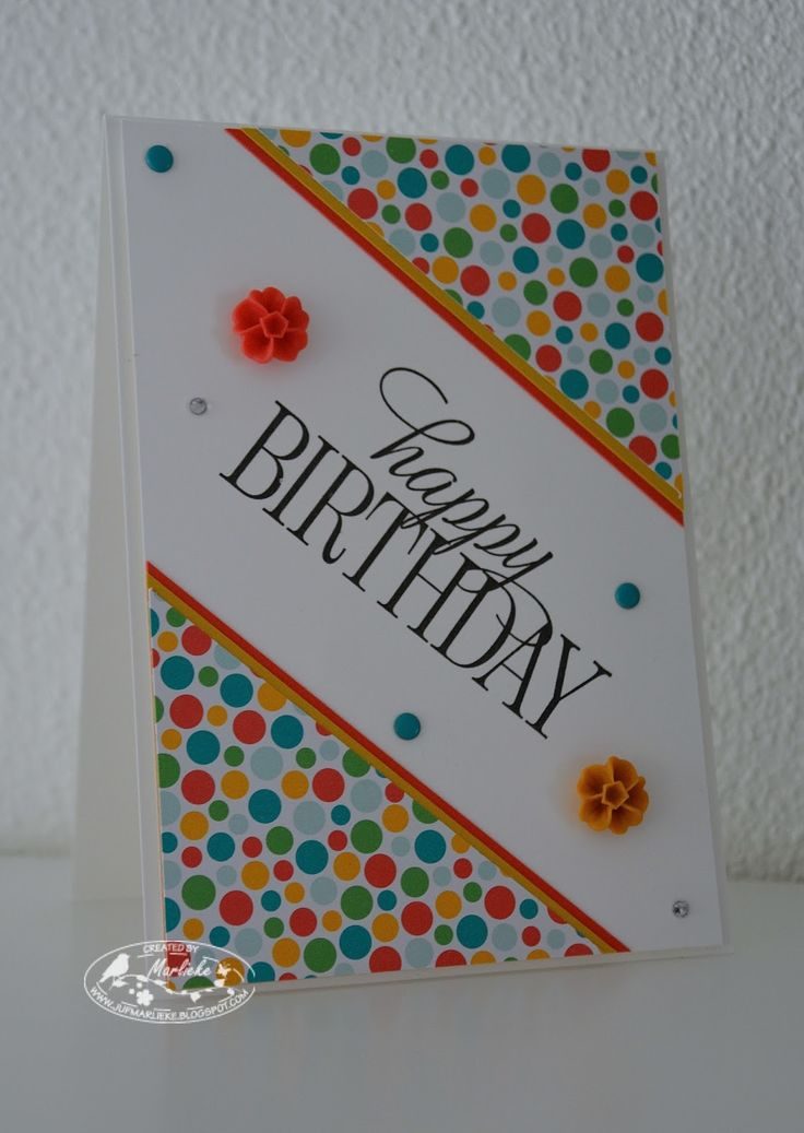 Stampin Adventures, Marlieke Smetsers, Stampin' Up! Blossom Accents, DSP Cherry on Top