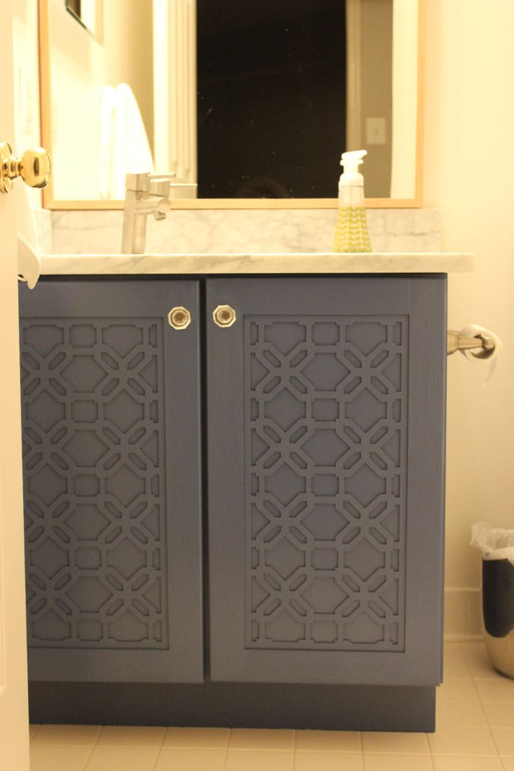 Best 25 bathroom vanity makeover ideas on pinterest for Bathroom cabinet makeover ideas