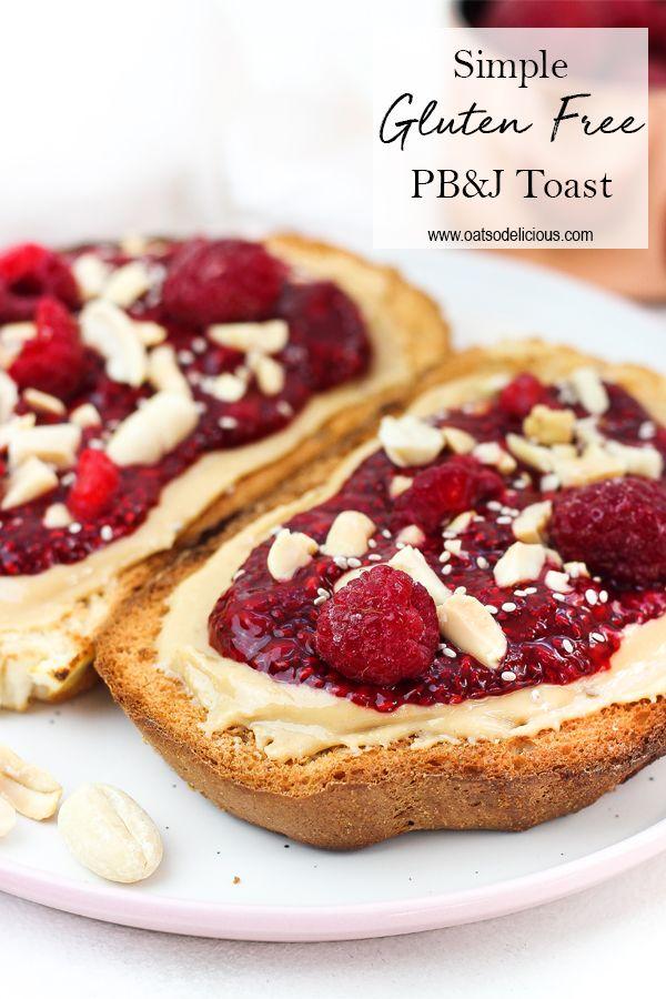Simple Gluten Free Pb J Toast Food Processor Recipes Homemade Nut Butter Fancy Breakfast