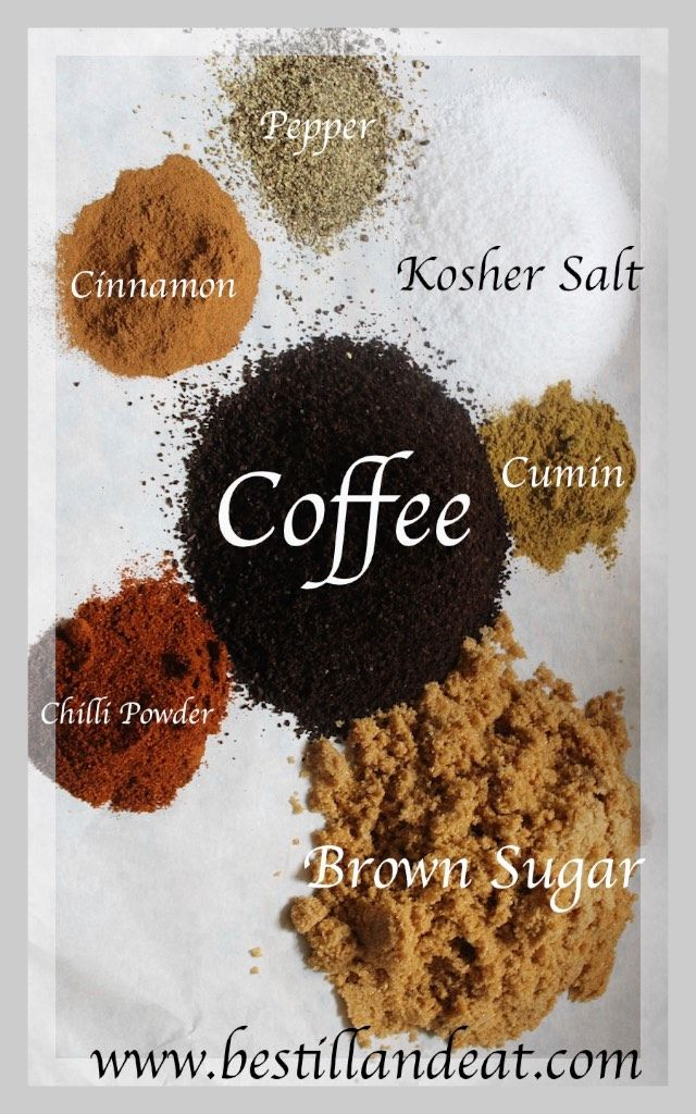 Coffee Rib Rub!  Coffee, like wine, is great to cook with!  www.bestillandeat.com