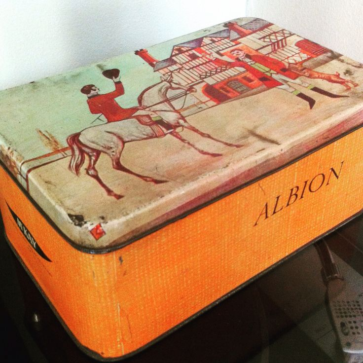 Caja galletas Mckay Albion
