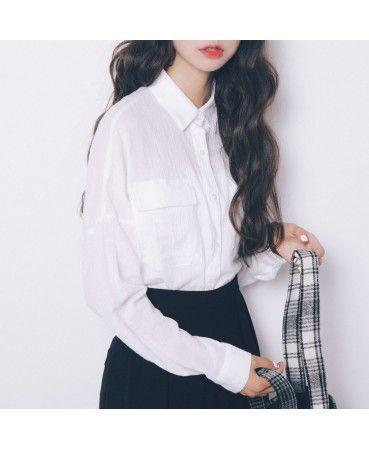Casual cotton blouse