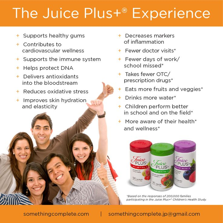The Juice Plus+ Experience