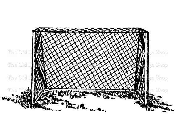 Vintage Field Hockey Net Commercial Use Clip Art Illustration Etsy Illustration Art Clip Art Illustration