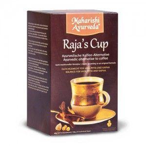A Raja kávé 4 gyógynövény összetevőből áll (Tisztító dió, Szenna kávé, Édesgyökér, Aswaganda), melyeknek magvai, illetve gyökerei vannak a készítményben. A zsír emésztését támogatja, hatékony nehéz étkezést követően. A Raja kávé százszor erősebb antioxidáns, mint a C- vagy E-vitamin: http://m.ajurveda.hu/Ajurvedikus-kave