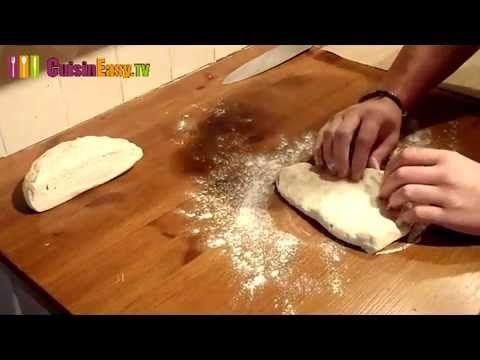 recette de pain maison - YouTube