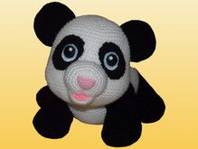 Häkelanleitung Shiro der Panda