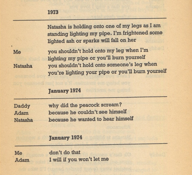 Found Objects: R.D. Laing, Conversations with Children.