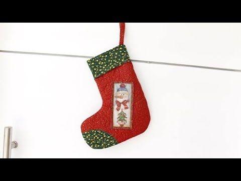Bota Do Papai Noel - Enfeite De Porta