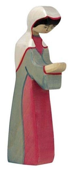 Maria 2 Krippe Holztiger Holzfigur Holz
