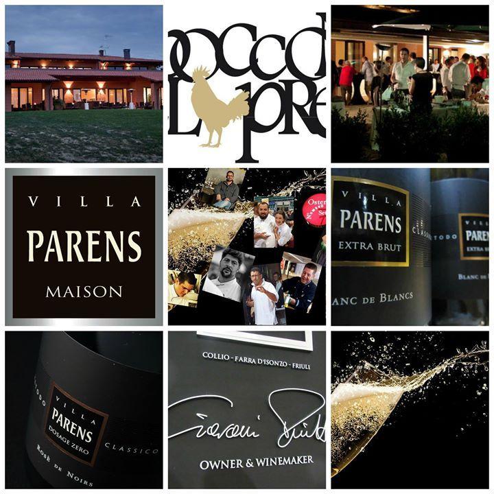 Rosè de Noirs e Blanc de Blancs Villa Parens per la 'Notte delle Bolle' il 19 giugno al Golf Club Siepelunga di Bologna. Bollicine e chef al top!
