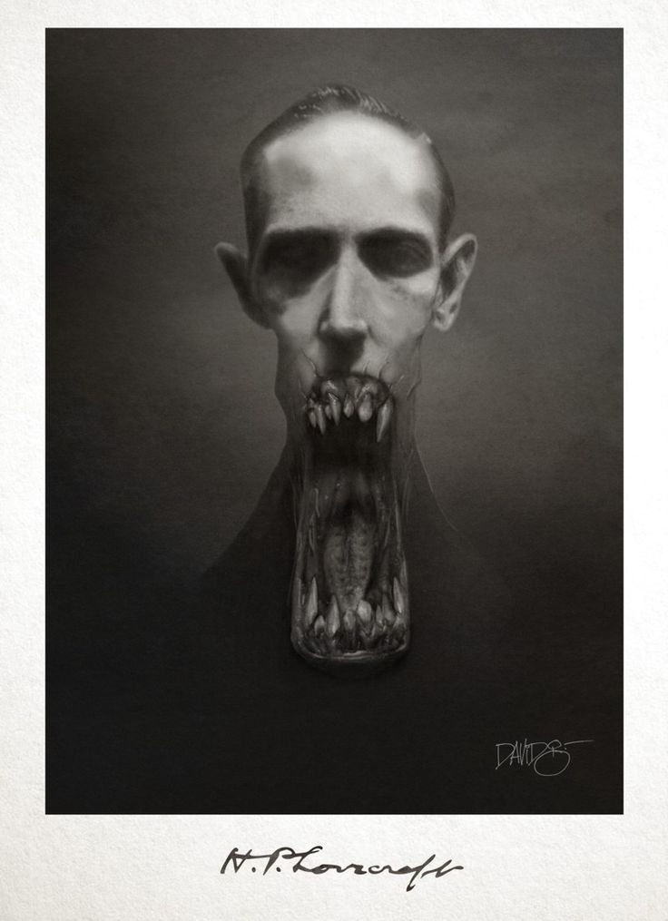 H.P. Lovecraft by David G. Forés (un tipo ilustrado)