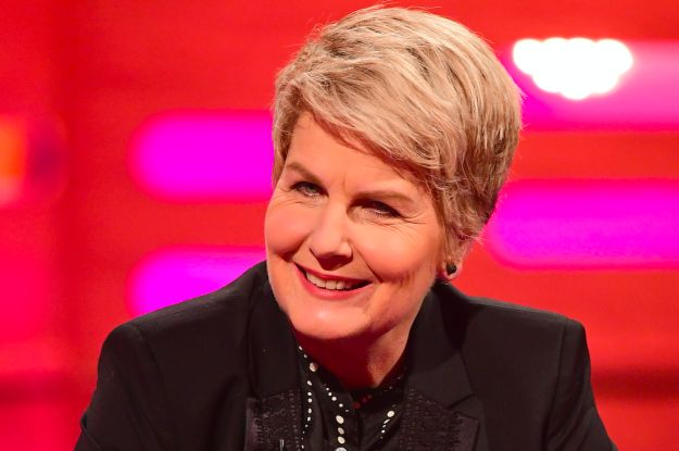 """Fielding will be hosting alongside Sandi Toksvig (from QI and Radio 4's News Quiz). 
