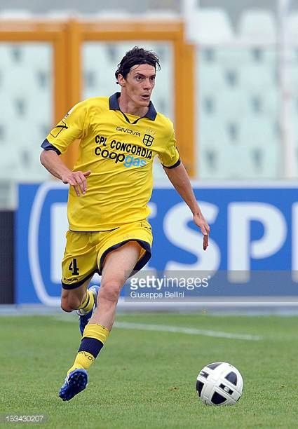 Riccardo Nardini of Modena in action during the Serie B match between SS Virtus Lanciano and Modena FC at Adriatico Stadium on September 29 2012 in...