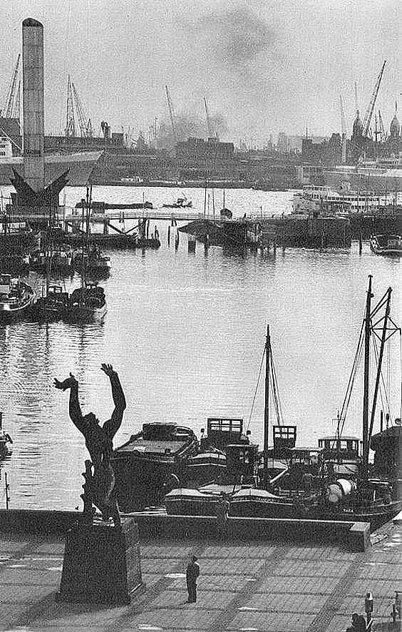 Rotterdam - Beelden aan de Maas (jaren 50)