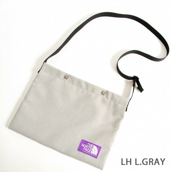 f4dd9b4f4 THE NORTH FACE PURPLE LABEL Suede Shoulder Bag NN7925N LIGHT GRAY ...