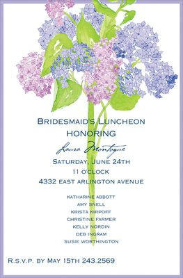 18 best images about bridesmaid luncheon invitations on Pinterest