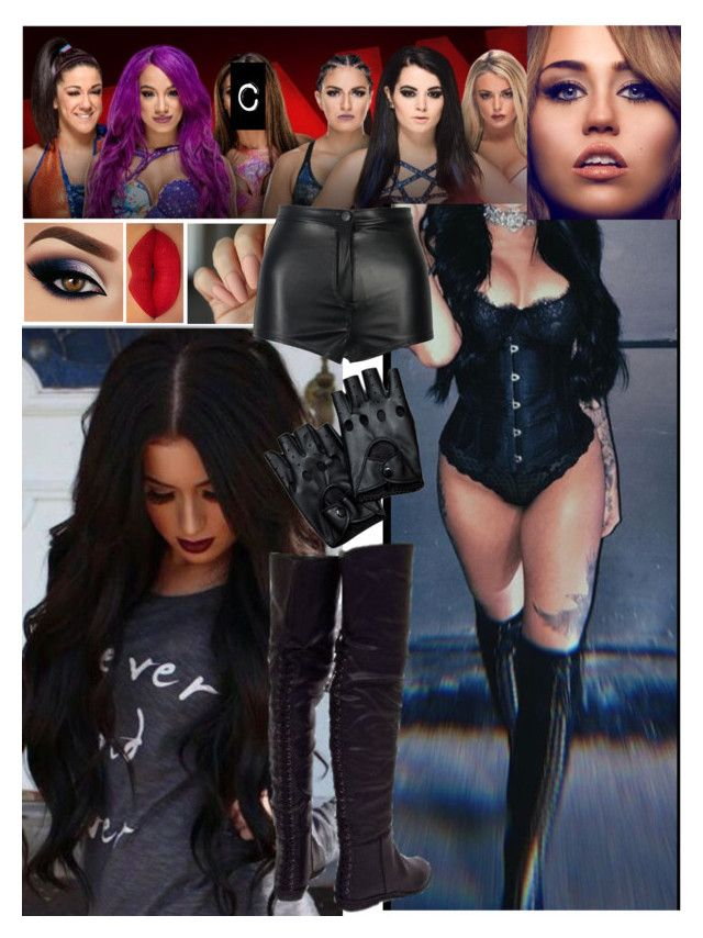 """""""Bailey,Sasha Banks and Carola Reigns vs Paige,Mandy Rose and Soya Deville 💖Carola💖"""" by carolalink ❤ liked on Polyvore featuring Urban Decay"""