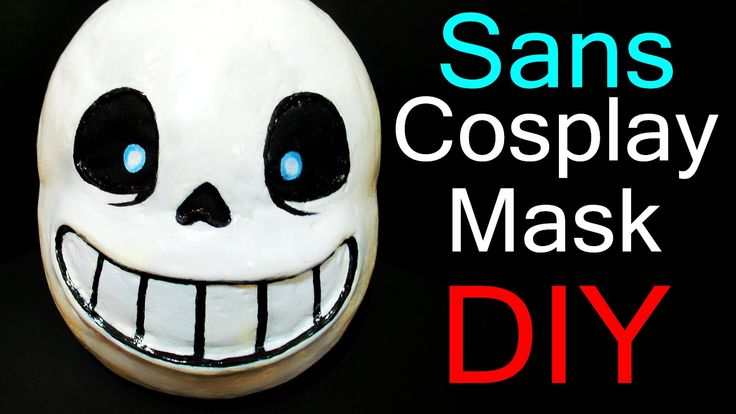 Undertale Cosplay - Sans mask Tutorial (Delu's)