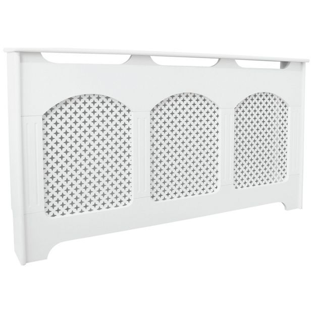 Buy Collection Winterfold Large Radiator Cabinet - White at Argos.co.uk - Your Online Shop for Radiator covers, Home furnishings, Home and garden.