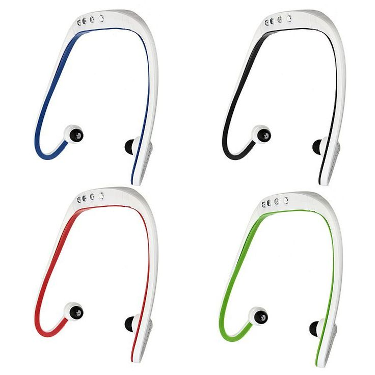 Portable Waterproof Running Sport Wireless Tf Card Headphone Mp3 Music Player With Usb Cable Sale - Banggood.com