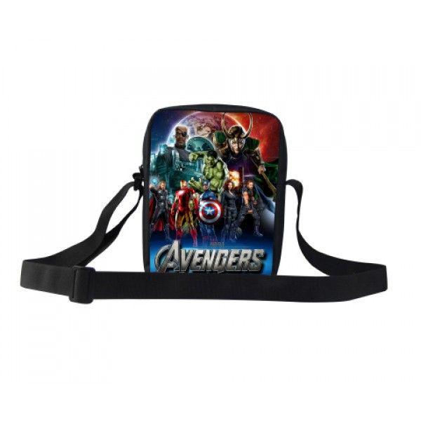 Marvel Avengers taske til drenge børn Hulk, captain america, thor, Ironman, black widow, loki