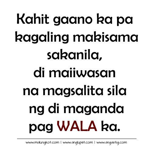 Patama Di Maiiwasan Bitter Quotes Mga Patama Quotes Tagalog