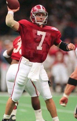 Jay Barker. One of my all time favorite Bama players. I met him one year while we were at cheerleading camp at UA.