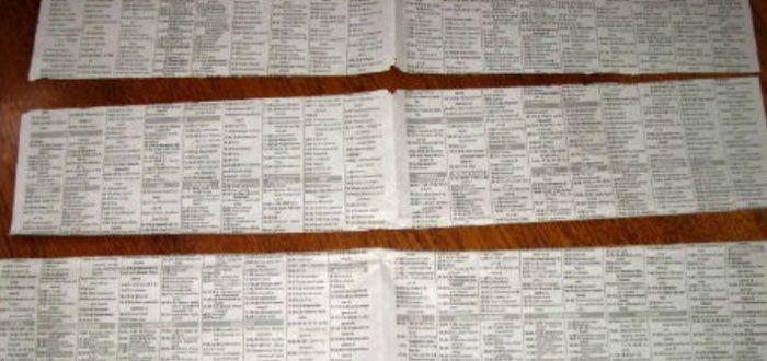 Изготовление газетных трубочек