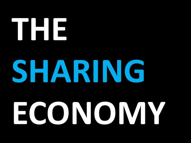 Slideshare: The Sharing Economy
