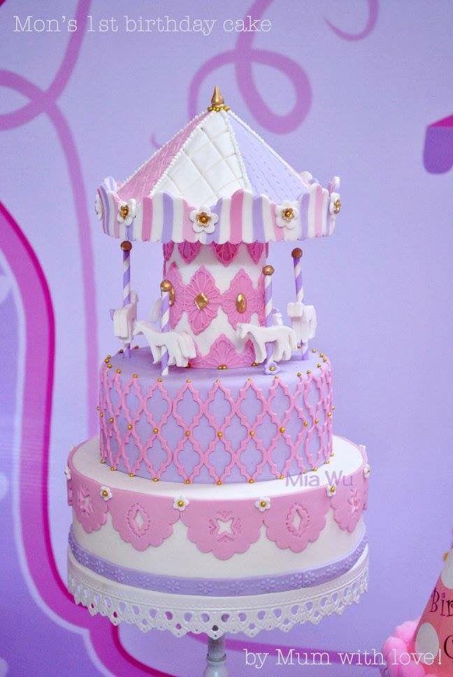 Mon's 1st birthday cake!