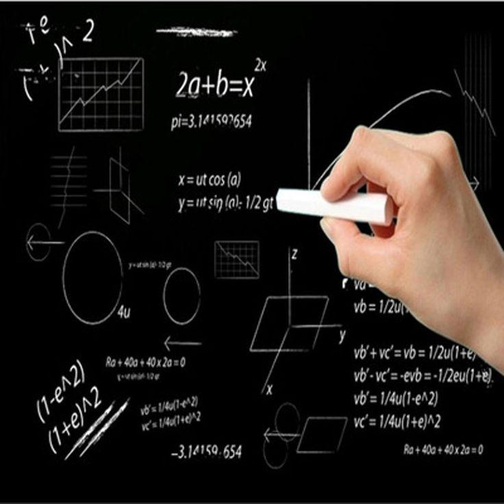 Environmental Protection PVC Children's Doodling Teaching Blackboard 45*200 cm Erasable Erasable Graffiti Wall Stickers