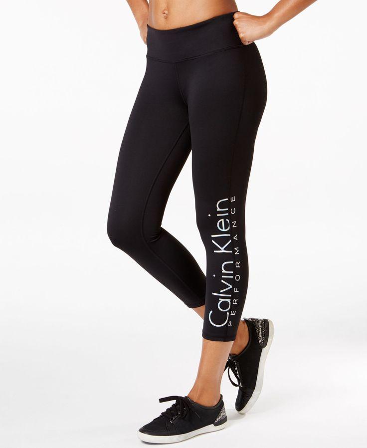 Calvin Klein Performance Logo Capri Leggings