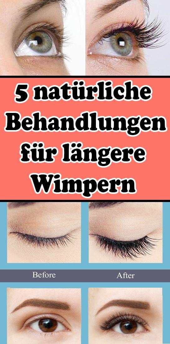 5 natürliche Behandlungen für längere Wimpern