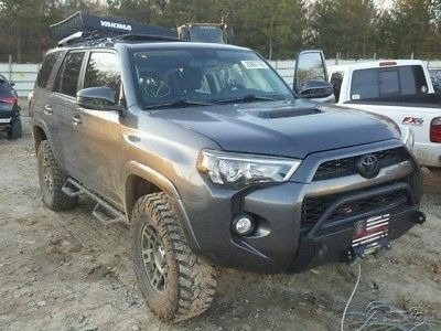 eBay: 2016 Toyota 4Runner Trail 4x4 4dr SUV 2016 Toyota 4Runner Trail 4x4 4dr SUV RUNS #carparts #carrepair
