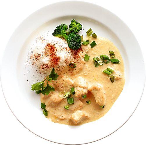 Thai kycklinggryta med kokosmjölk   Recept från Köket.se