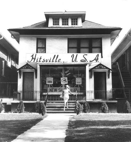 """Hitsville USA"" is the location of Motown Records at 2648 West Grand Blvd. in Detroit, where Berry Gordy started his own label, Tamla. (The Detroit News archives)"